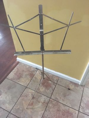 Collapsible Adjustable Music Stand for Sale in Kansas City, KS