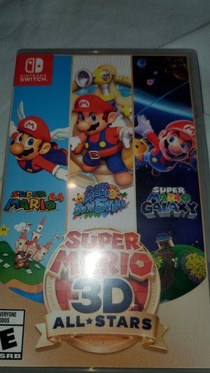 Super Mario 3D all Stars for the Nintendo switch for Sale in Rialto, CA