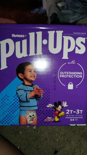 Huggies pull up size 2t-3t 54ct for Sale in Columbus, OH