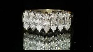 10K yellow gold diamond ring size 7 for Sale in Lake Stevens, WA