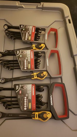 Husky 100-Position Double Ratcheting Wrench Set SAE (6-Piece) for Sale in Riverside, CA
