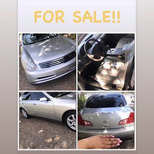 2003 INFINITI G35 for Sale in Opelousas, LA