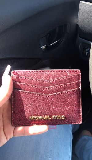Mk small wallet pink glittery for Sale in Fontana, CA