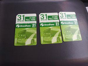 Bus pass 4 sale for Sale in San Bernardino, CA