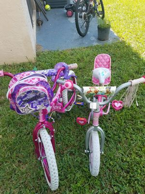 kids bicycle 12 and 16 for Sale in Pompano Beach, FL
