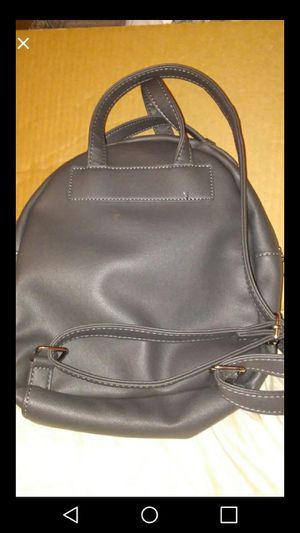 Faux leather backpack purse for Sale in UPPER ARLNGTN, OH