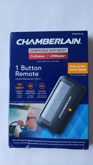 Chamberlain Remote Control Garage Door for Sale in Sun City, AZ