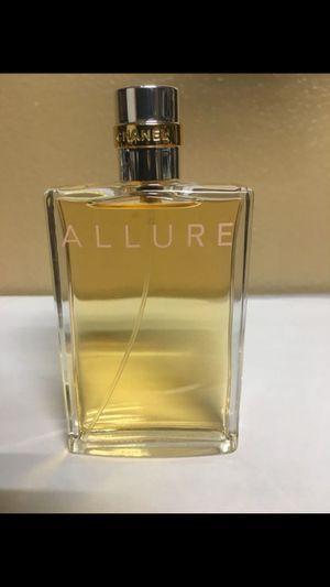 Chanel Allure Women's Perfume 100ml 3.4 oz for Sale in San Bernardino, CA