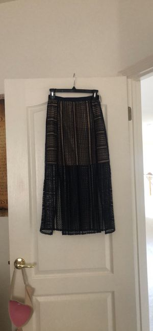 Topshop blue skirt for Sale in San Francisco, CA