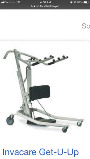 Sit to stand Hoyer...a real backsaver for caregivers for Sale in Bothell, WA