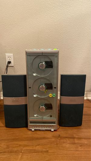 RARE H.H. Scott SMV- 300 Vertical 3-CD Radio Stereo System for Sale in Portland, OR