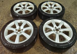 4 17 in 5x100 wheels rims and tires for Sale in Germantown, MD