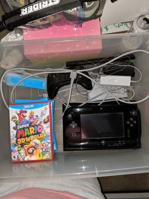 Wii U 32GB Black W/Games for Sale in Oregon City, OR