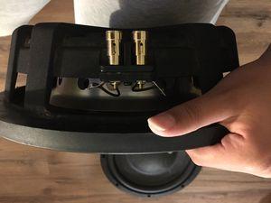 Memphis audio subwoofer & 1.500 amp for Sale in Harrisonburg, VA