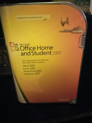 2007 Microsoft Office Home and Student for Sale in Charlotte, NC