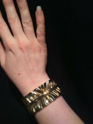 Vintage Gold Plated Bracelet With Spring Clasp for Sale in Gresham, OR