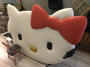 Hello kitty headboard or wall deco custom made for Sale in Fort Myers, FL