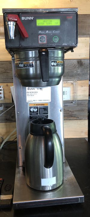 BUNN Commercial Coffee Brewer for Sale in Denver, CO