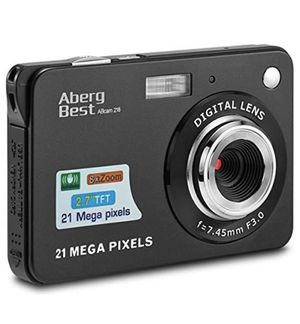 "AbergBest 21 Mega Pixels 2.7"" LCD Rechargeable HD Digital Camera for Sale in Puyallup, WA"