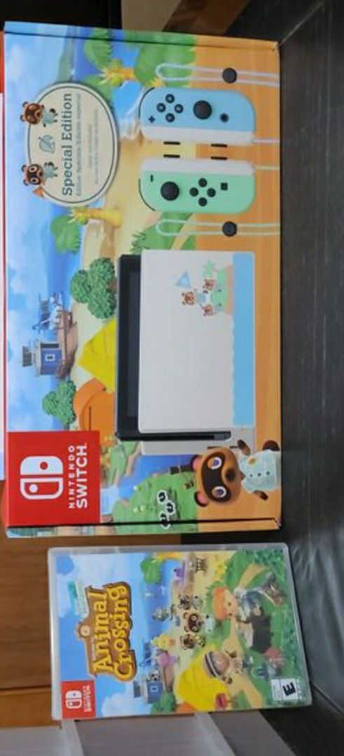 *Brand New* Nintendo Switch Animal Crossing Console + Game