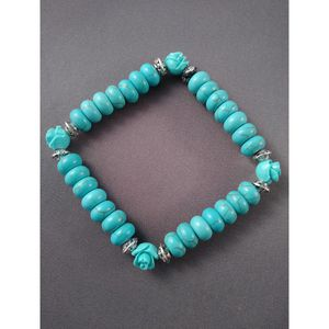 Turquoise beaded rose bracelet for Sale in Nashua, NH