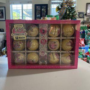 LOL Surprise Confetti Pop 12 Pack for Sale in Glendora, CA