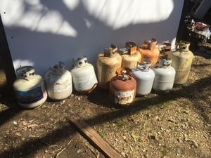 Propane tanks some r almost full! for Sale in Ragland, AL