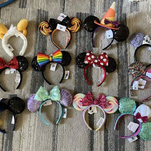 Disneyland Parks Minnie Mouse Ears New With Tags $20 Each for Sale in Baldwin Park, CA