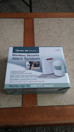 Wireless security alert system for Sale in Cleveland, OH
