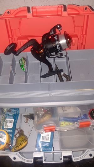 fishing box with reel brand new for Sale in Philadelphia, PA