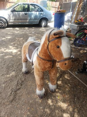 Toy horse for kids for Sale in March Air Reserve Base, CA
