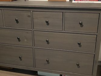 Dresser (IKEA Hemnes 8 Drawer) + Mirror for Sale in Seattle,  WA