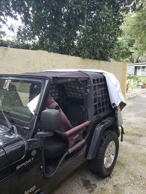 2004 jeep wrangler tj sport 5 speed manual for Sale in Tampa, FL
