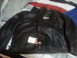 Indian motorcycle riding leather jacket for Sale in Port Orchard, WA