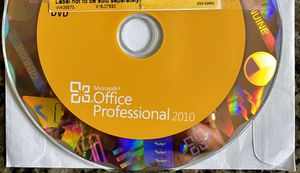 Office Professional 2010 Software CD for Sale in Lynnwood, WA