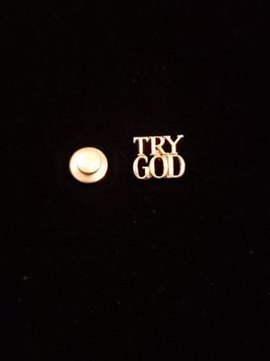 Beautiful Tiffany and Co Sterling Try God Pin for Sale in Virginia Beach, VA