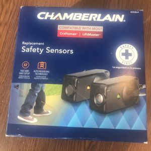 Chamberlain Replacement Safety Sensors For Garage Doors for Sale in Monroe, NC
