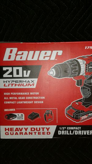 20 volt half inch drill driver kit for Sale in Holiday, FL