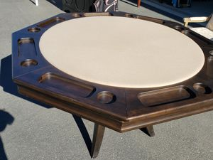 8 Section Poker Table for Sale in Byron, CA