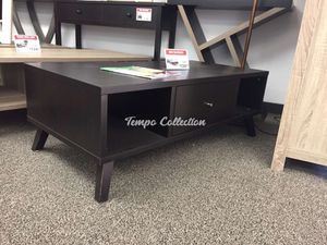Coffee Table, Red Cocoa , SKU# ID172255CTTC for Sale in Santa Fe Springs, CA