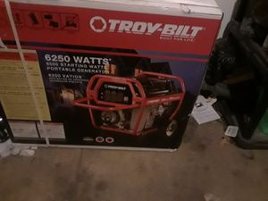 Generator, wire tester and 75' gas line for Sale in Detroit, MI