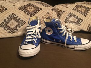Hightop Blue Converse for Sale in Plano, TX