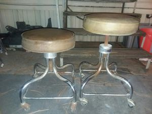 Vintage mid-century EF Brewer medical stools/ tattoo stools for Sale in Fort Walton Beach, FL
