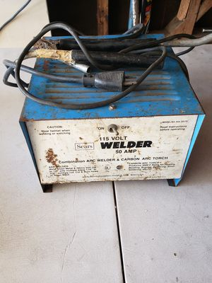 Sears 115 Volt 50 Amp Welder for Sale in Los Angeles, CA