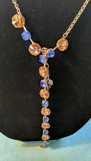 Handmade Crystal Necklace and Bracelet for Sale in McKeesport, PA