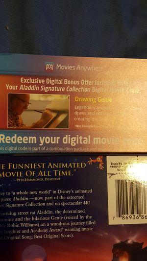 Aladdin digital code for Sale in Lexington, KY