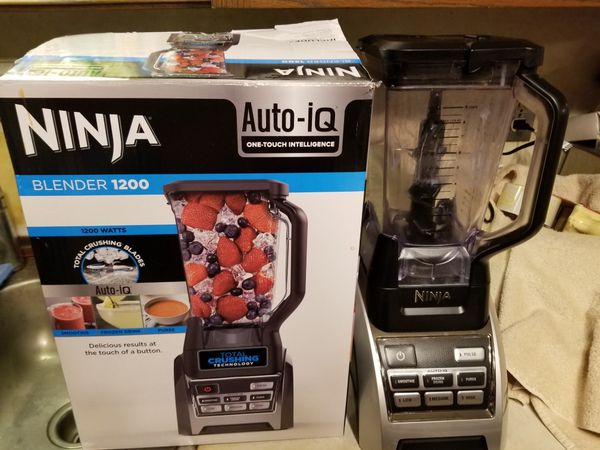 Ninja 1200watt blender new