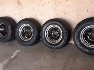 Muscle rims 6 lug for Sale in Ontario, CA