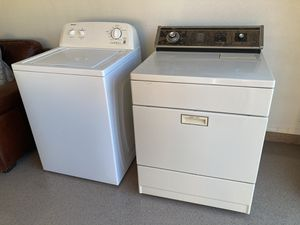 Washer and electric dryer works great! for Sale in Scottsdale, AZ