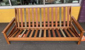 Wooden Futon Frame for Sale in Portland, OR